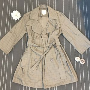 Forever 21 Trench Coat w/ 3/4 Sleeves